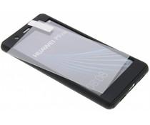 Einfarbiges schwarzes 360° Protect Case für das P9 Lite