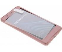Einfarbiges rosafarbenes 360° Protect Case für das P9 Lite