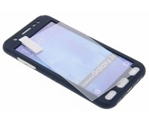 Einfarbiges dunkelblaues 360° Protect Case für das Samsung Galaxy J5