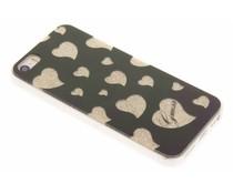 Guess Hearts Soft TPU Case für das iPhone 5 / 5s / SE