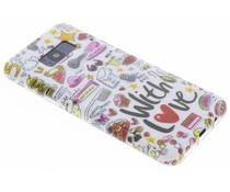 Blond Amsterdam With Love Softcase für Samsung Galaxy S8 Plus