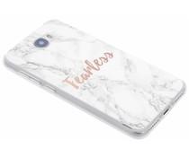 Zitat Marmor Design Fearless TPU Hülle für Y5 2/Y6 2 Compact