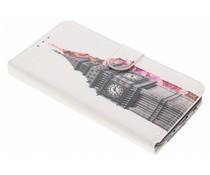 Design TPU Booktype Hülle für Samsung Galaxy J7 (2017)