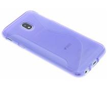 Violette S-Line TPU Hülle für das Samsung Galaxy J3 (2017)