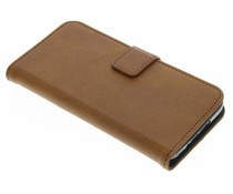 Luxuriöse Leder Booktype Hülle Galaxy S5 (Plus) / Neo
