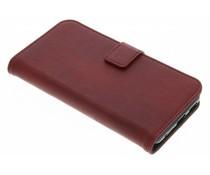 Luxus Leder Booktype Hülle Rot für LG G6
