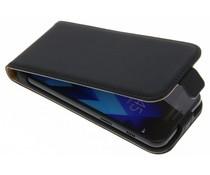 Selencia Schwarzes Luxus Flipcase für Samsung Galaxy A3 (2017)
