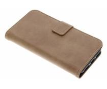 Luxuriöse Leder Booktype Hülle für iPhone 8 / 7