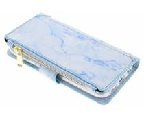 Blaue Luxuriöse Portemonnaie-Hülle für das Samsung Galaxy S7