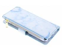 Blaue Luxuriöse Portemonnaie-Hülle für das Samsung Galaxy S8