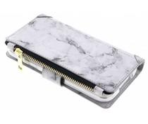 Graue Luxuriöse Portemonnaie-Hülle für das Samsung Galaxy S5 (Plus) / Neo