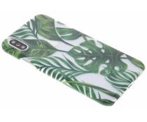 Fabienne Chapot Monstera Leafs Hardcase iPhone Xs / X