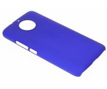 Blaue unifarbene Hardcase-Hülle für Motorola G5S Plus