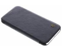 Nillkin Qin Leather Slim Booktype Hülle Schwarz für das iPhone Xs / X