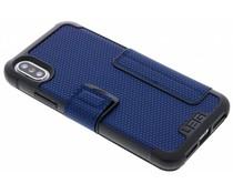 UAG Blaues Metropolis Folio Case für das iPhone Xs / X