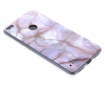 Marmor Silikon-Hülle Huawei P8 Lite (2017)
