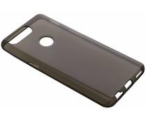 Graues Transparentes Gel Case für das OnePlus 5T