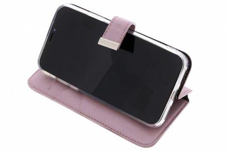 Valenta Rosafarbenes Booklet Premium Handstrap für das iPhone Xs / X
