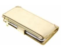 Goldfarbene Luxuriöse Portemonnaie-Hülle General Mobile GM6