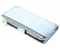 Blaue Luxuriöse Portemonnaie-Hülle das General Mobile GM6
