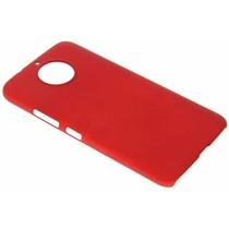 Rote Unifarbene Hardcase-Hülle für Motorola Moto G5S Plus