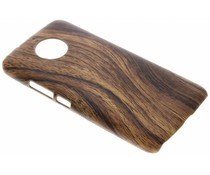 Holz-Design Hardcase-Hülle für das Motorola Moto G5S