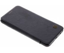 Nillkin Qin Leather Booktype Hülle Schwarz Samsung Galaxy A8 (2018)