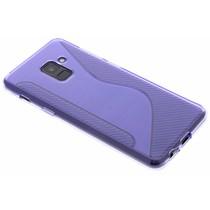 Violette S-Line TPU Hülle für Samsung Galaxy A8 (2018)