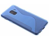 Blaue S-Line TPU Hülle für Samsung Galaxy A8 (2018)
