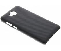Carbon Look Hardcase-Hülle für Huawei Y6 (2017)
