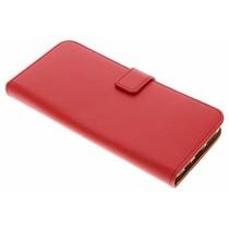 Roter Luxus TPU Book Case Samsung Galaxy S9 Plus