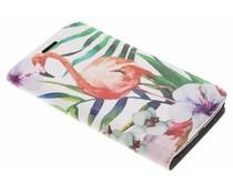 Flamingo Design Booklet für Motorola Moto G5