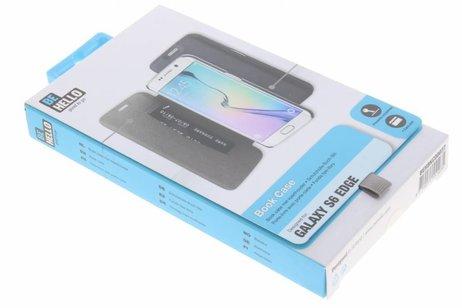 Samsung Galaxy S6 Edge hülle - Be Hello Schwarzes Book