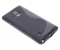 Schwarze S-Line TPU Hülle für Samsung Galaxy Note 4