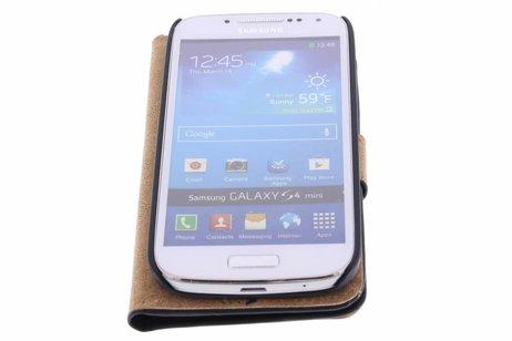 Samsung Galaxy S4 Mini hülle - Luxus Bookcase für Samsung