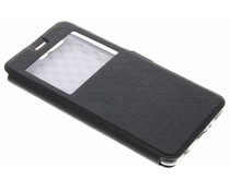 Schwarze Rauten-Hülle für Huawei P10 Plus