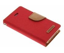Mercury Goospery Canvas Diary Case für das iPhone 4 / 4s