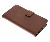 Luxus Leder Booktype Hülle für Motorola Moto G5S