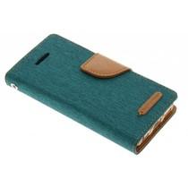 Mercury Goospery Grünes Canvas Diary Case iPhone 5c