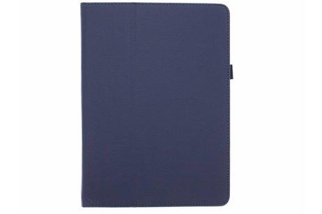 Samsung Galaxy Tab S 10.5 hülle - Blaue unifarbene Tablet Hülle