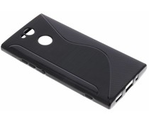 Schwarze S-Line TPU Hülle für das Sony Xperia XA2