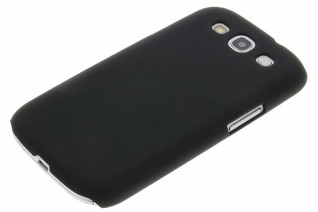 Schwarze unifarbene Hardcase-Hülle für Samsung Galaxy S3 / Neo