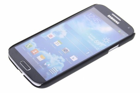 Samsung Galaxy S4 hülle - Schwarze unifarbene Hardcase-Hülle für