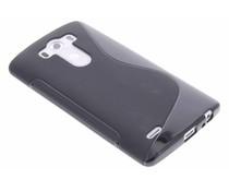 Schwarze S-Line TPU Hülle für LG G3