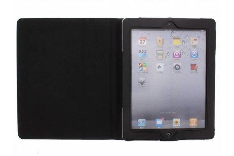 Schwarze unifarbene Tablet Hülle iPad 2 / 3 / 4