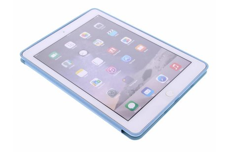 iPad Air 2 hülle - Luxus Buch-Schutzhülle Türkis iPad
