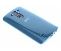 Türkises transparentes Gel Case für LG G3