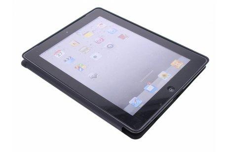 Schwarze Luxus Buch-Schutzhülle iPad 2 / 3 / 4