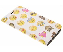 Emoji Design Booklet für Motorola Moto E4 Plus