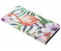 Flamingo Design Booklet für Nokia 6